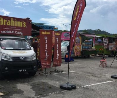 Brahim's Mobile Cafe Roadshow at Karnival Jom Heboh TV3 Batu Kawan, Penang
