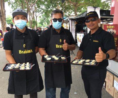 Brahim's Mobile Cafe Roadshow at Karnival Jom Heboh TV3 Johor Bahru