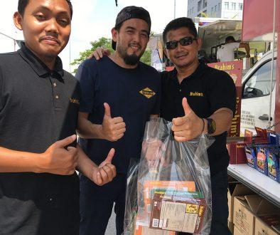 Brahim's Mobile Cafe Roadshow at Karnival Jom Heboh TV3 MITC Melaka