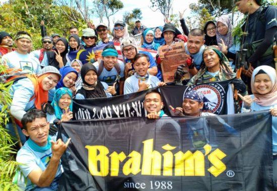 Xpedisi #11 pendakian bersama Brahim's ke Gunung Tangga, Pahang