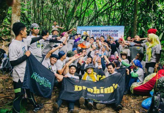 Xpedisi #13 pendakian bersama Brahim's ke Gunung Bah Gading Perak