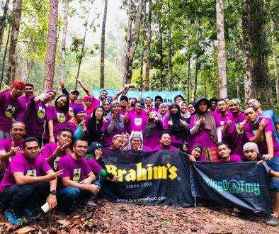 Xpedisi #14 pendakian bersama Brahim's ke Gunung Tebu Terengganu