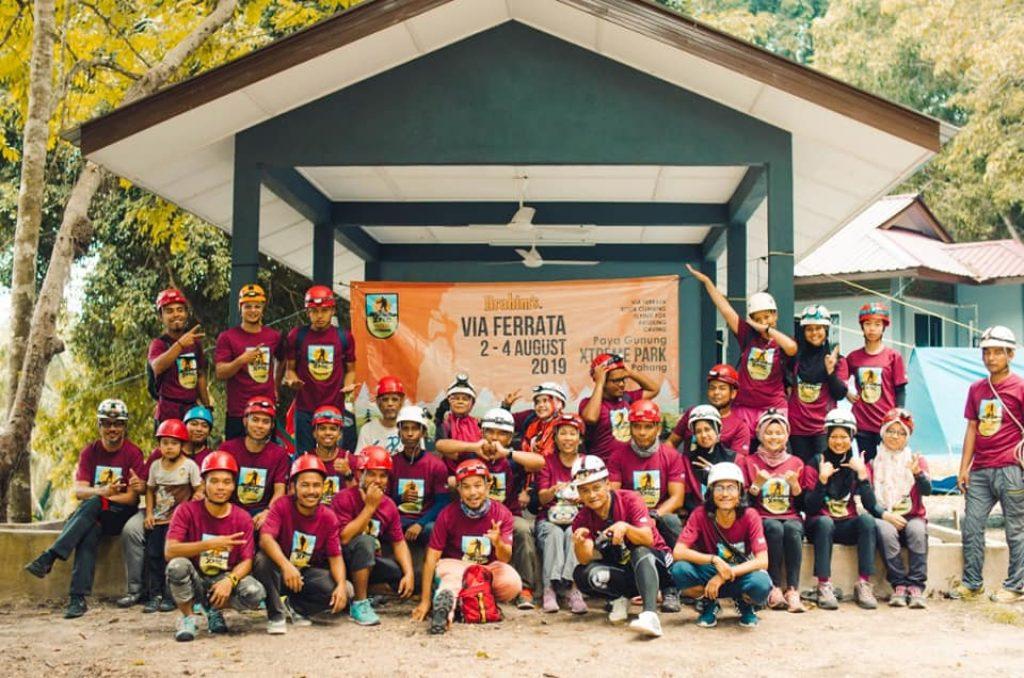 Xpedisi #15 Brahim's Outdoor - Via Ferrata Jerantut Extreme Park 2-4 Ogos 2019